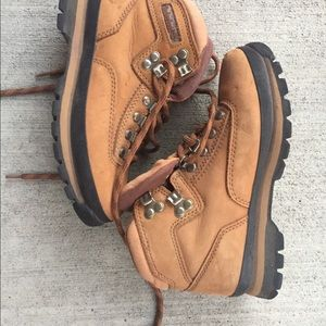 Timberland Hiking Boots Tan Suede 6